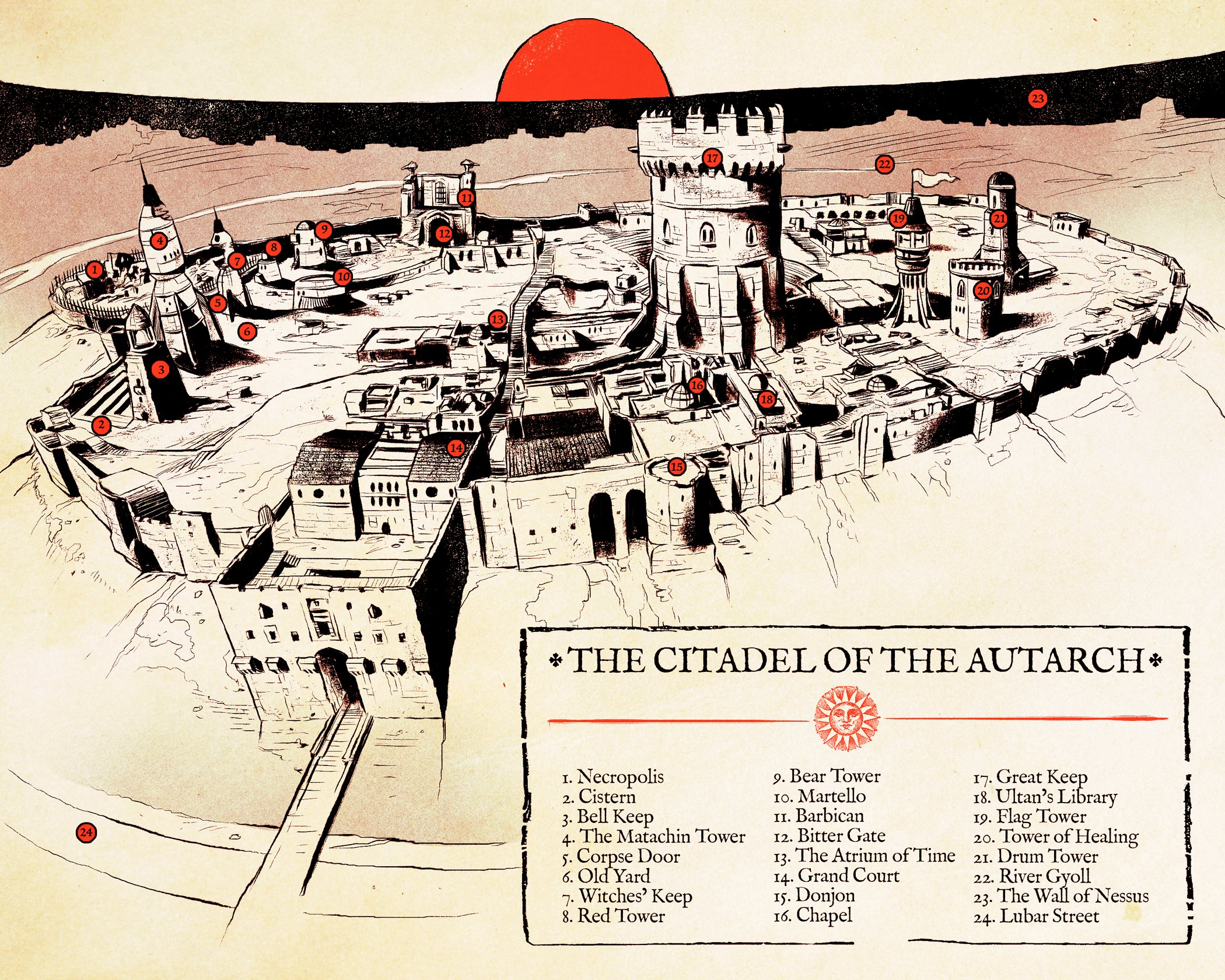 Citadel of the Autarch